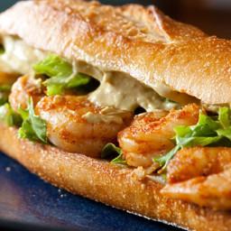 Cosi Pasilla Lime Shrimp Sandwich