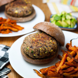 Costco Veggie Burgers + Alexandria Sweet Potato Fries