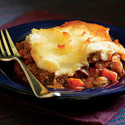 Cottage Pie with Beef and Carrots