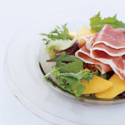 Country Ham and Mango Salad