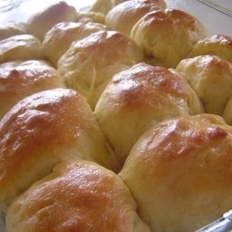 Country White Bread or Dinner Rolls (Bread Machine)