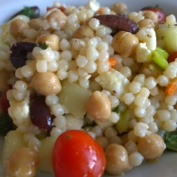 Couscous and Feta Mediterranean Salad