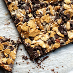 Cowboy 7 Layer Cookie Bars