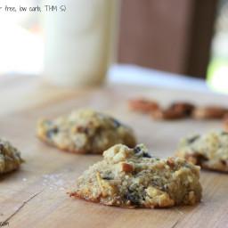 Cowboy Cookies (sugar free, low carb, THM S)