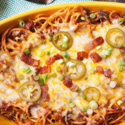 Cowboy Spaghetti Bake