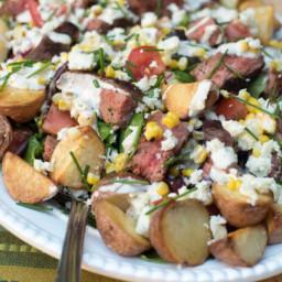 Cowboy Steak Salad