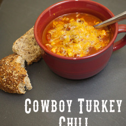 Cowboy Turkey Chili