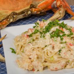 Crab Alfredo