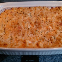 Crab & Asiago Macaroni and Cheese