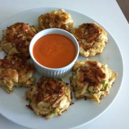 Crab Cakes with Roasted Red Pepper Remoulade