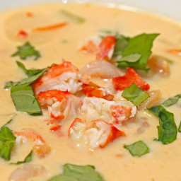 Crab Coconut Thai Soup