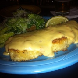 Crab Encrusted Halibut (ala Waterfront Depot)