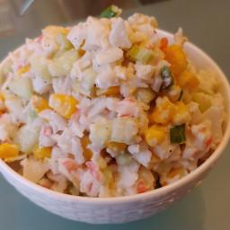 Crab Salad with Corn