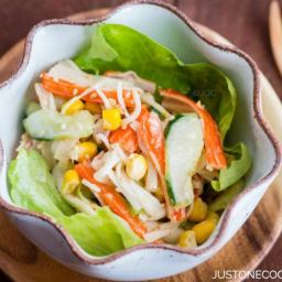 Crab Salad with Ponzu-Mayonnaise Dressing