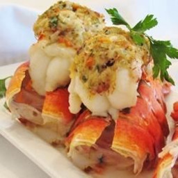 Crab-Stuffed Lobster Tail Recipe