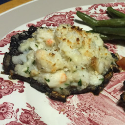 Crabmeat Stuffed Portobello Mushrooms