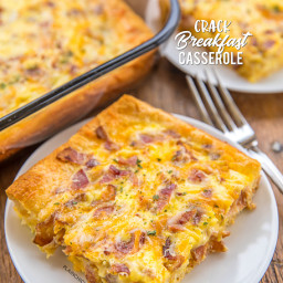 Crack Breakfast Casserole