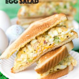 Cracked Out Egg Salad