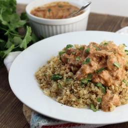 Slow Cooker Keto Chicken Tikka Masala