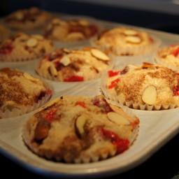 Cran-Almond Muffins