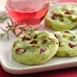 Cran Pistachio Cookies