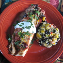 Cran-Turkey Enchiladas