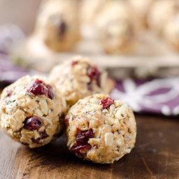 Cranberry Almond Energy Bites