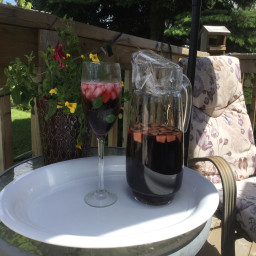 Cranberry and Red Wine Sangria