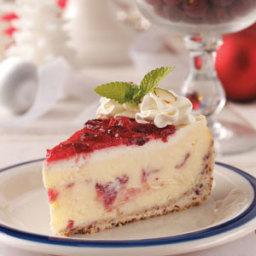 Cranberry Celebration Cheesecake Recipe