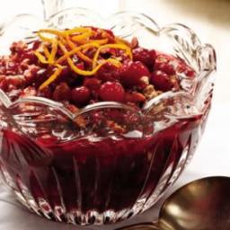 Cranberry, Cherry and Walnut Marmalade
