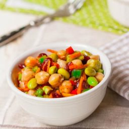 Cranberry-Chickpea Salad