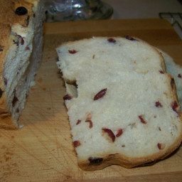 Cranberry Cinnamon Bread (Bread Machine)