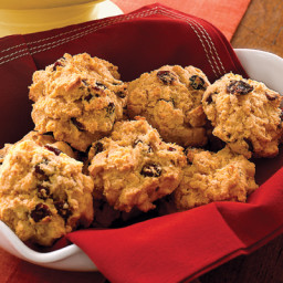 Cranberry-Cornmeal Biscuits