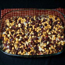 Cranberry Crunch Bars