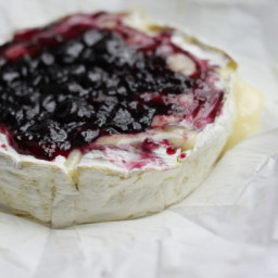 Cranberry-Glazed Brie