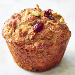 Cranberry, Orange, and Pistachio Muffins