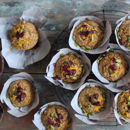 Cranberry Orange Bran Muffins