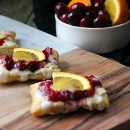 Cranberry Orange Tarts
