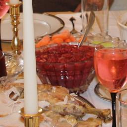Cranberry salad (CV)