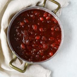 Cranberry Sauce with Orange and Cinnamon