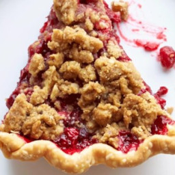 Cranberry Streusel Pie Recipe