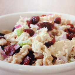 CRANBERRY TUNA SALAD (primal blueprint m. sisson)