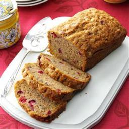 Cranberry Zucchini Bread Recipe