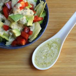 Crave a Caesar(ish) Vegan Salad Dressing? Tahini + Capers Make It Work
