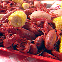 Crawfish Boil Recipe for 40 to 45 Pounds of Crawfish