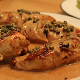 Crawley Family Chicken Breast w/Caper Cream Sauce