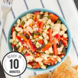 Crazy Quick White Bean Salad
