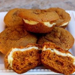 Cream Cheese Carrot Muffins