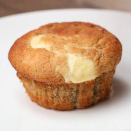 Cream Cheese-filled Banana Bread Muffins Recipe by Tasty