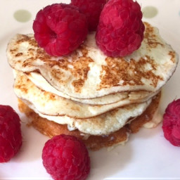 Cream Cheese Pancakes - Low Carb and Gluten Free